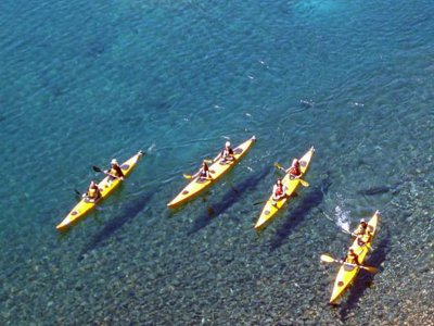 Double kayak rental in Mojácar, 30 minutes