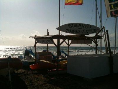 Pedalo rental in Almeria's beach 1h
