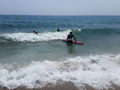Introduction to surfing in Mojácar, 5-hour course