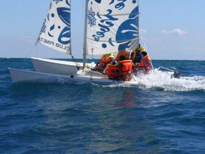 Catamaran without skipper in Mojácar, 1h