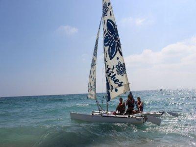 Catamaran tuition in Mojácar, 1h
