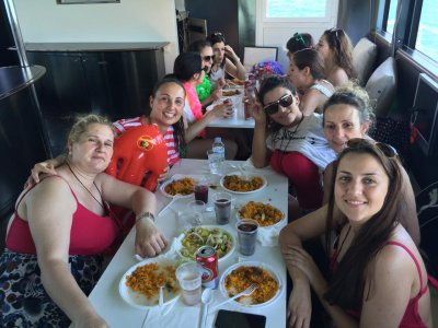 Cruise ship with lunch in Valencia, 2h