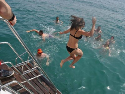 Cruise for kids with bath in Valencia, 90 min