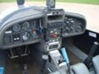Inside the glider