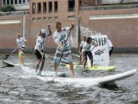 One of our paddling competitions