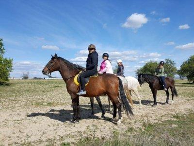 Horse-riding route in Cuba de la Sagras, 2h