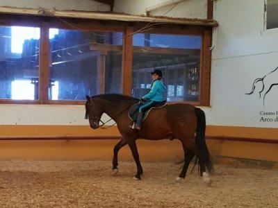 Horse-riding route for kids, Cuba de la Sagras 1h
