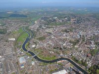 aerial view exeter