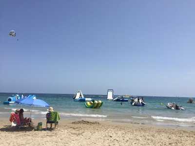 Water park in Torrevieja's beach, 30 minutes