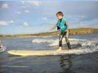 Good surfing for a kid