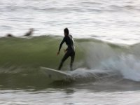 A more experienced surfer