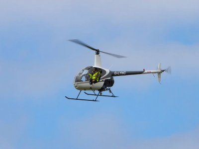 Helicopter flight South Yorkshire 45 min