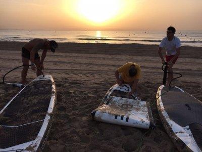 SUP + Snorkel at Sunset, San Juan Beach, 2h