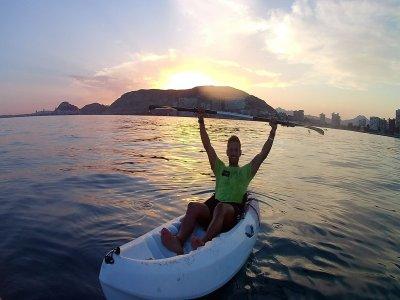 Kayak+Snorkel at Dusk, Playa de San Juan, 2 Hours