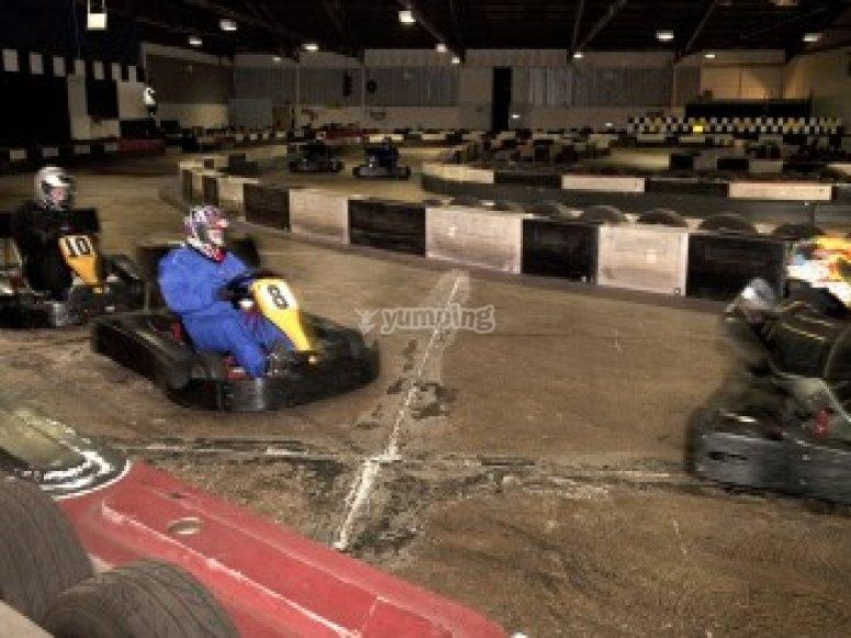 Ace Karting Plus indoor track