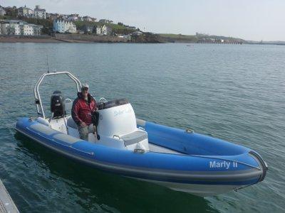 Dive Pembrokeshire UK Powerboating