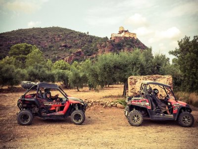Quad 2 seat ride Salou 4h