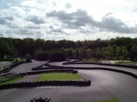 Our outdoor karting circuit