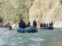 Go on a rafting expidition to Nepal.