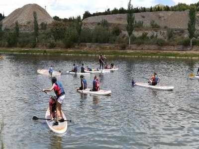 Single party: paddle surf and kayak in Bajo Cinca