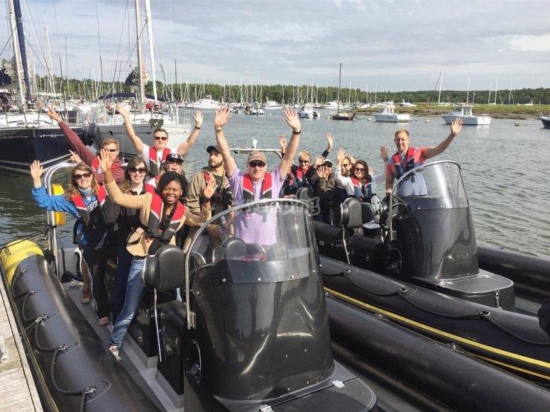 Team boat