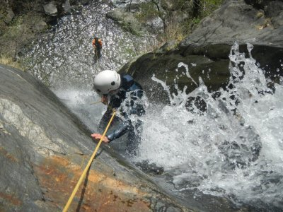Canyoning on Viu de Llevata for 5 hours
