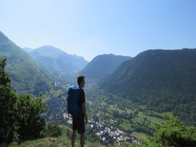 Trekking at Collegats defile, 5-6 hours
