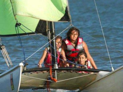Introduction catamaran renting in Isla Canela