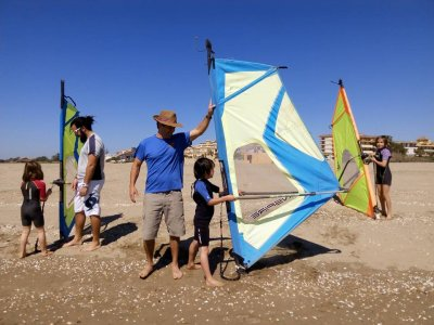 Private windsurf tuition at Canela Island, 1h