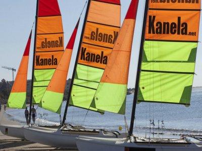 Private catamaran tuition at Huelva, 1h