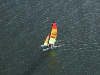 Catamaran route at the Guadiana river, 4h