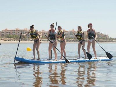 Big Paddle Surf rental at Canela Island, 1h