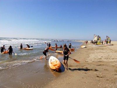 Single kayak renting in Isla Canela
