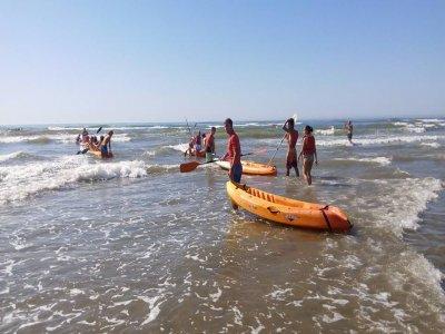 Kayak rental at Canela Island, 1 hour