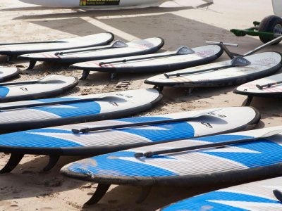 Paddle surf rental for beginners, Canela Island