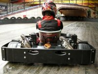 Twin engine karts