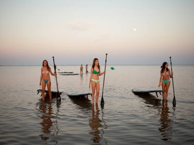Paddle surf classes at Canela Island, 1 hour