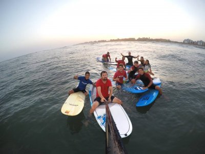 Guadiana descent paddle surf at Canela Island