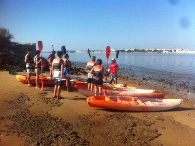 Kayak route at Cristina Island marsh, 2h