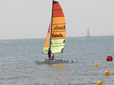 Catamaran route at Canela Island, 5h