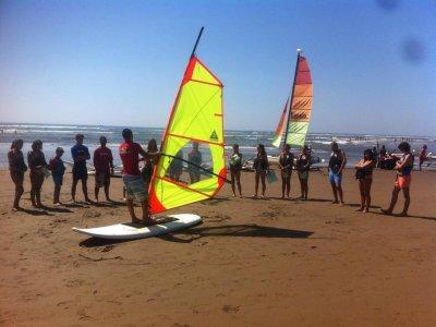 Advanced winsurfing course in Isla Canela
