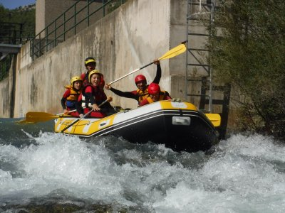 Rafting in Castellote and photos 2 to 3 hours