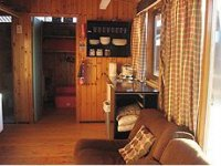The cosy log cabin