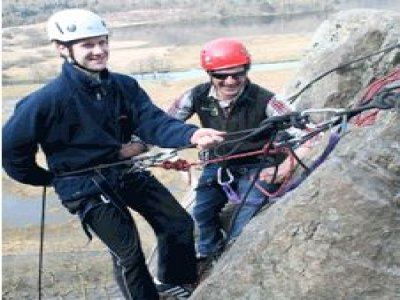 Shearwater Adventures Abseiling