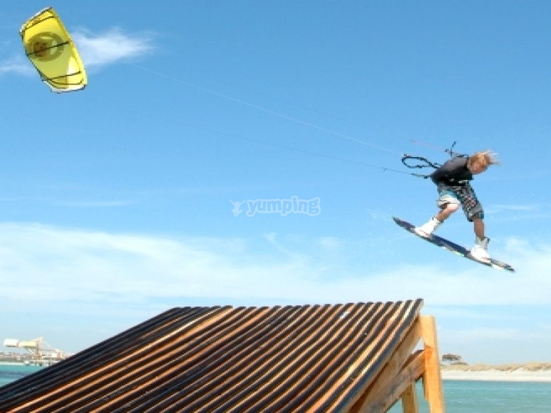 Kitesurf Tricks