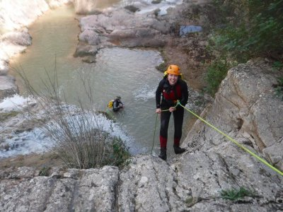 Canyoning in Riera del Carme