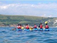 Group kayaking experience