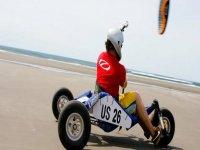 Kite buggy - Kite Landboard Lesson  in Camber