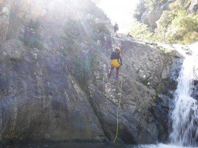 Canyoning beginners Sant Ponç