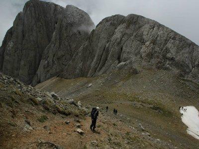 Trekking Route to Pedraforca's Peak